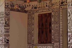 Saura Painting from Orissa