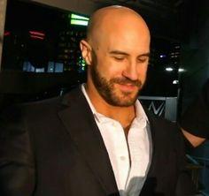 Hot Men, Hot Guys, Antonio Cesaro, Fitness Models, Bald With Beard, Bear Men, Wwe Superstars, Kfc, Hairy Men