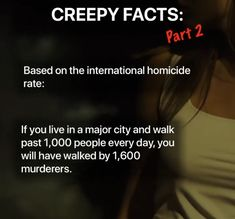 Creepy Facts, Creepy Things, Random Facts, Fun Facts, Walking By, Tumblr Posts, Interesting Facts, Politics, History