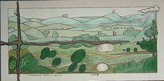 Gerald Shepherd: Landscape With A Crack