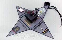 """""""Dinner-for-One""""-Pyramidenbox von Brigitte Baier-Mosr / Mediendesign Moser"""