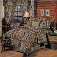 Realtree AP Camo Bedding   - Camouflage Bedding