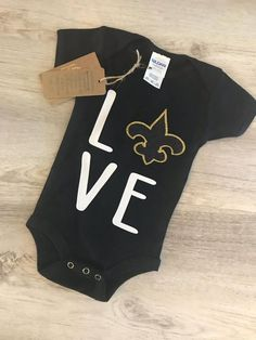 Just Customized Cute Infant Football Fine Personalized Jersey Baby Bodysuit with Contrasting Sleeve Stripes