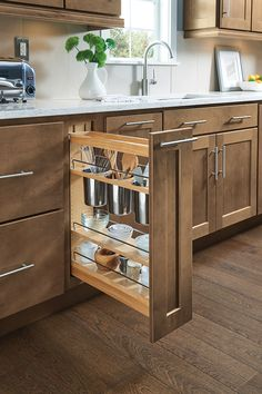 Our Wood Spice Drawer Cabinet Insert Is A Fantastic Option To Keep Spices  Neatly Organized And Right Where You Need Them.