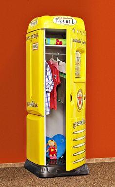 Perfect Produkt Detailinformationen Einzigartiger Kinderzimmer Schrank mit klappbarem Schreibtisch in der Form einer Zapfs ule