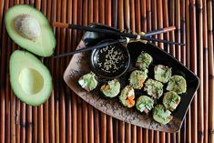 """Avocado & Veggie """"Sushi"""" Rolls   23 Healthy And Delicious Low-Carb Lunches"""