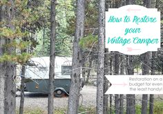 How to restore a vintage camper on a budget - Boler remodel Camping Hacks, Restore, How To Introduce Yourself, Camper, Budgeting, Restoration, Diy Projects, Caravan, Tips