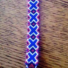 Custom friendship bracelet!
