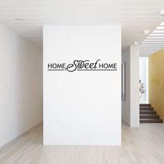 #1 Home sweet home wallsticker