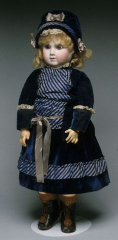 79.11690: J M Doll | doll | Dolls from the Nineteenth Century | Dolls | National Museum of Play Online Collections | The Strong
