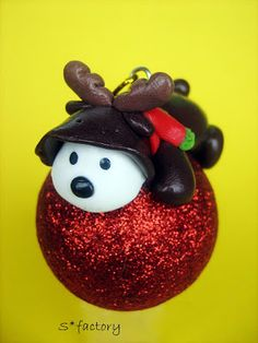 Christmas decoration - polymer clay
