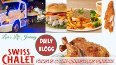 Swiss Chalet Feasts & The Christmas Parade || DAILY VLOGS #dailyvlog #swisschalet #feasts #christmasparade #christmasparade2016 #christmas #christmas2016 #emotionalissues #emotional #add #adhd #attentiondeficitdisorder #depression #anxiety #mentalhealth #lisaslifejourney