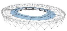 olympic stadium - roof - London