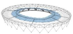 olympic stadium - roof - London
