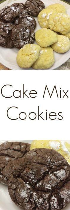 Easy peasy. Choose your flavor, buy the cake mix, and you're all set.  This recipe is an easy one for children to  help with - without the usual fanfare or mess.