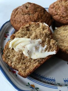Easy homemade muffins baked with apple butter