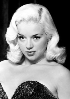 "lanaturner-curls:  Diana Dors ""An Alligator Named Daisy "" ,1955."