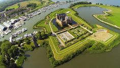 Muiderslot Castle - Situated just 15 kilometers south of Amsterdam and along the river Vecht sits Muiderslot castle. This well-known castle is located in the town of Muiden and was built in 1370 by Albrecht, the Duke of Bavaria.  It is now a national museum.