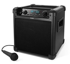 ION Audio Tailgater Portable Bluetooth PA Speaker with Mic, Genuine Karaoke Party Speakers, Bluetooth Speakers, Portable Speakers, Usb, Best Karaoke Machine, Karaoke System, Speakers For Sale, Radio Frequency, Tailgating