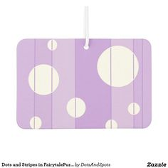 Dots and Stripes in FairytalePurple