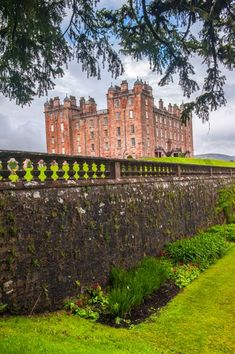 Drumlanrig Castle, Dumfries and Galloway, Scotland, built in 1691