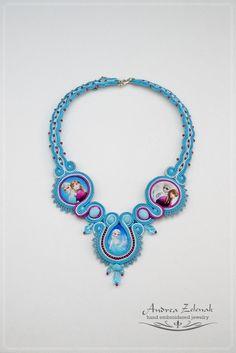Soutache necklace - Andrea Zelenak S0331