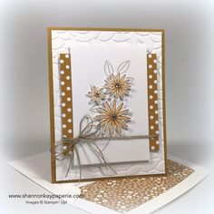 Stampin' Up! has five colors retiring on June 30th so I thought I would feature each color for you. Today's color is Delightful Dijon. Supplies of the 2015-17 In Colors are limited to stock on hand so if you...