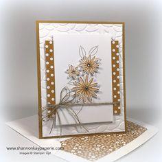 Sweetly Sentimental Card Ideas - Shannon Jaramillo Stampin Up