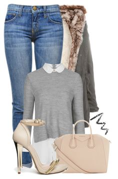 """""""#10"""" by oneandonlyfashion ❤ liked on Polyvore featuring Pull&Bear, Current/Elliott, Topshop, Givenchy and ASOS"""