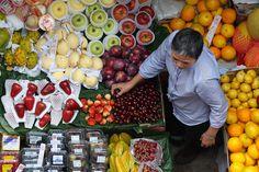Fruit Market, Soho, Hong Kong