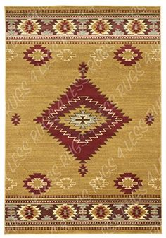 Rugs 4 Less Collection Southwest Native American Indian Area Rug Design  Door Mat Area Rug R4L