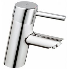 GROHE Concetto Starlight Chrome Single Hole Bathroom Sink Faucet at Lowe's. Dynamic angles, simple geometry and high-tech features make the Concetto single-handle bathroom faucet forward-leaning in both design and function. Lavatory Faucet, Bathroom Sink Faucets, Shower Faucet, Bathroom Rugs, Hall Bathroom, Sinks, Bathroom Ideas, Best Bathroom Scale, Modern Master Bathroom