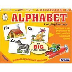 Alphabet Flash Cards - Alphabet Puzzles A set of big flash cards that teach the alphabet through phonetics.