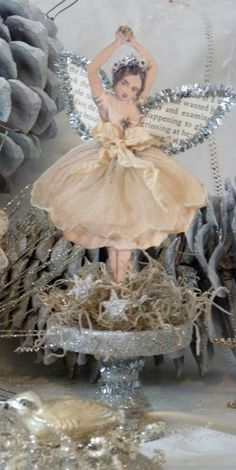 (1) by Emily's Garden | Christmas - Chenille dolls | Pinterest