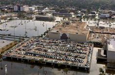 New Orleans Lakeside Mall after Katrina 2005
