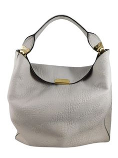 bd16d1e7e3 Burberry Light Grey Embossed Check Hobo (N1). Burberry HandbagsHandbag  AccessoriesDesigner ...