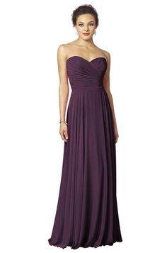 After Six 6639 Bridesmaid Dress in Aubergine - $236.00 - perfect for a fall wedding