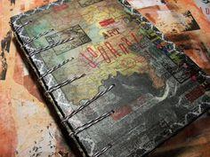 Morgan Le Fae's Trinkets: Secret Belgian binding tutorial