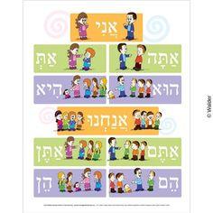 Hebrew Pronouns כנוי .jpg (400×400)