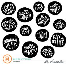 Day In The Life™ Circles  at Ali Edwards