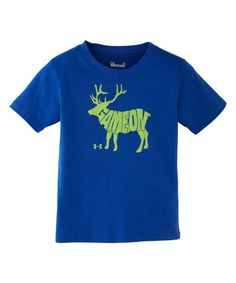 Love this Under Armour® Blue-Away Game On Tee - Infant by Under Armour® on #zulily! #zulilyfinds