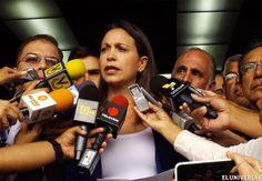 Machado: No se puede permitir que engañen al país con un llamado al diálogo - Nacional y Política