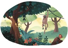 """Check out this @Behance project: """"A Scenic World"""" https://www.behance.net/gallery/42650499/A-Scenic-World"""