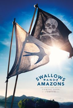 I worked this morning and I took the girls to see this in the afternoon- Imogen is going to be a sailor / explorer now and save everybody from bad guys!! Swallows and Amazons forever lol. We did well with movies this summer I think.