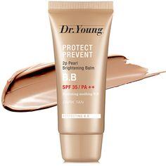 young Pearl Brightening Balm B. Light Texture, Dark Skin, The Balm, Bb, Blush, Skin Care, Pearls, Cream, Face