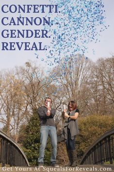 Shop our gender reveal collection for the most unique gender reveal experience! Our confetti cannons and smoke cannons make amazing pictures! Fall Gender Reveal, Confetti Gender Reveal, Gender Reveal Balloons, Cool Pictures, Beautiful Pictures, Balloon Box, Cannon, Couple Photos, Amazing