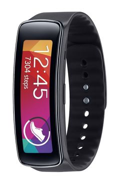 c4200945682 Amazon.com  Samsung 1.84 Inch Gear Fit Fitness Watch with Pulse Sensor -  Black