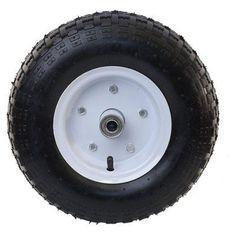 Aleko Products 13 in. Air Filled Pneumatic Wheelbarrow Wheel