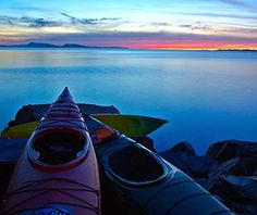 Kayaking the San Juan Islands - the Pacific Northwest has most every outdoor activity you could ask for - <3 Washington State