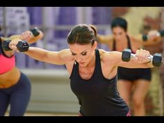 Cathe Friedrich ICE Chiseled Upper Body Workout